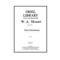 W. A. Mozart - Three...