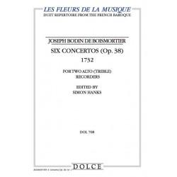 Boismortier, 6 Concertos...