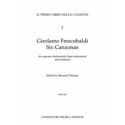 Frescobaldi, 6 Canzonas for...