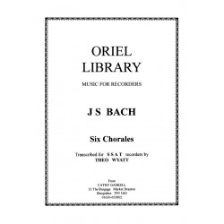 J S Bach - Six Chorales for...