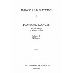 82 Playford Dances for SATB...